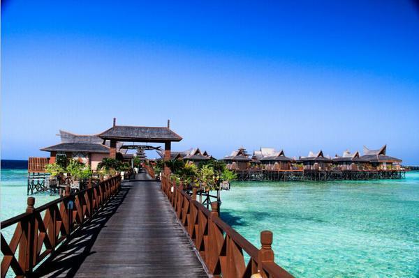【马来西亚】风下之乡-沙巴仙本那-诗巴丹—天堂海岛