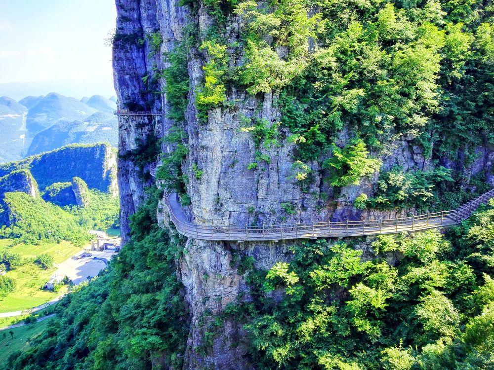 穿越恩施大峡谷_旅行画册旅行图片_百度旅游