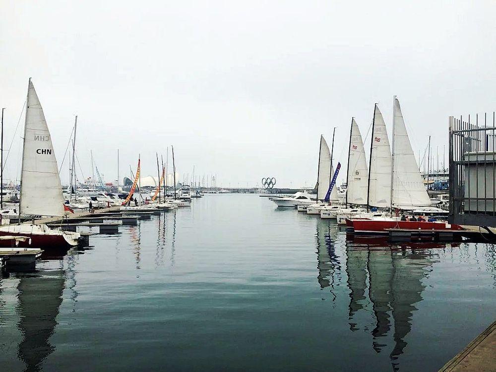 青岛国际帆船中心图片