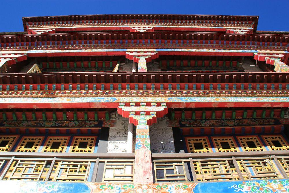 藏式新年动态框架素材