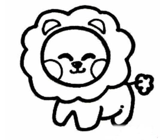 狮子简笔画图片,狮子简笔画怎么画