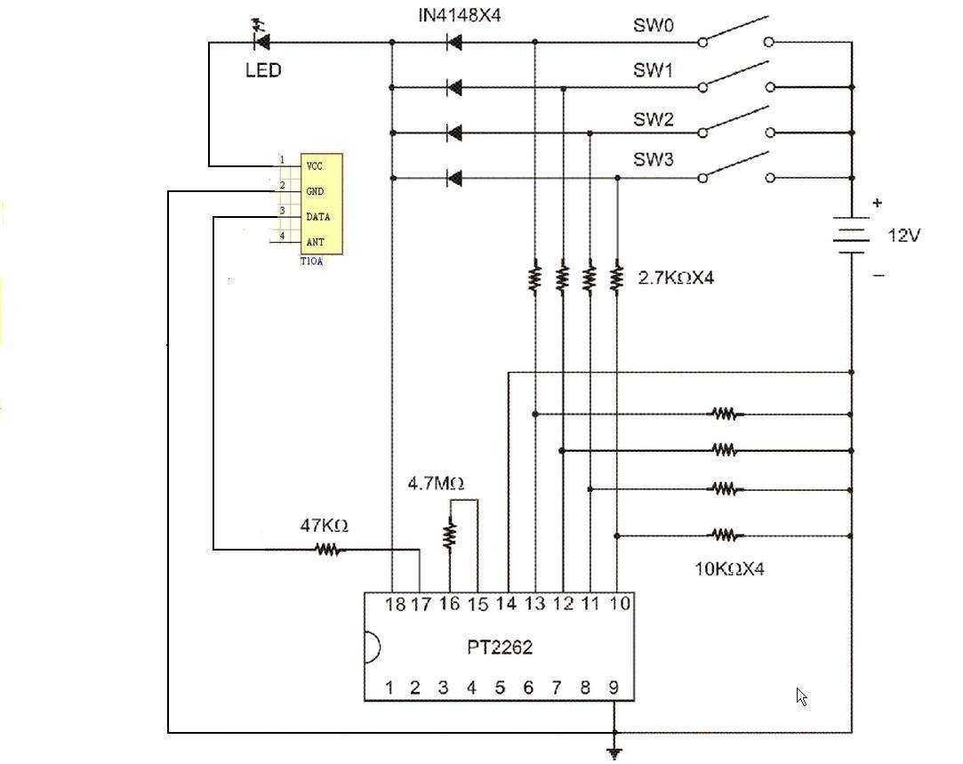 四个电阻  是不是  下拉电阻啊,? 追答 试试这一个电路图.