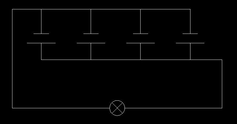 并联接线电路图.串联接线图都是怎么接的