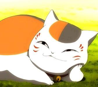 起初为了得到友人帐以招财猫的形象作为他的保镖天天与其在一起,最后