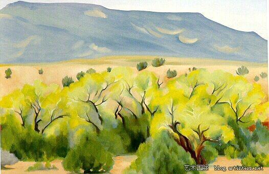 乔治亚·欧姬芙的新墨西哥州时期