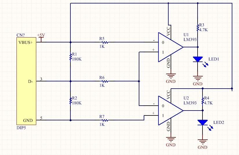 lm339作电压比较器的电路问题