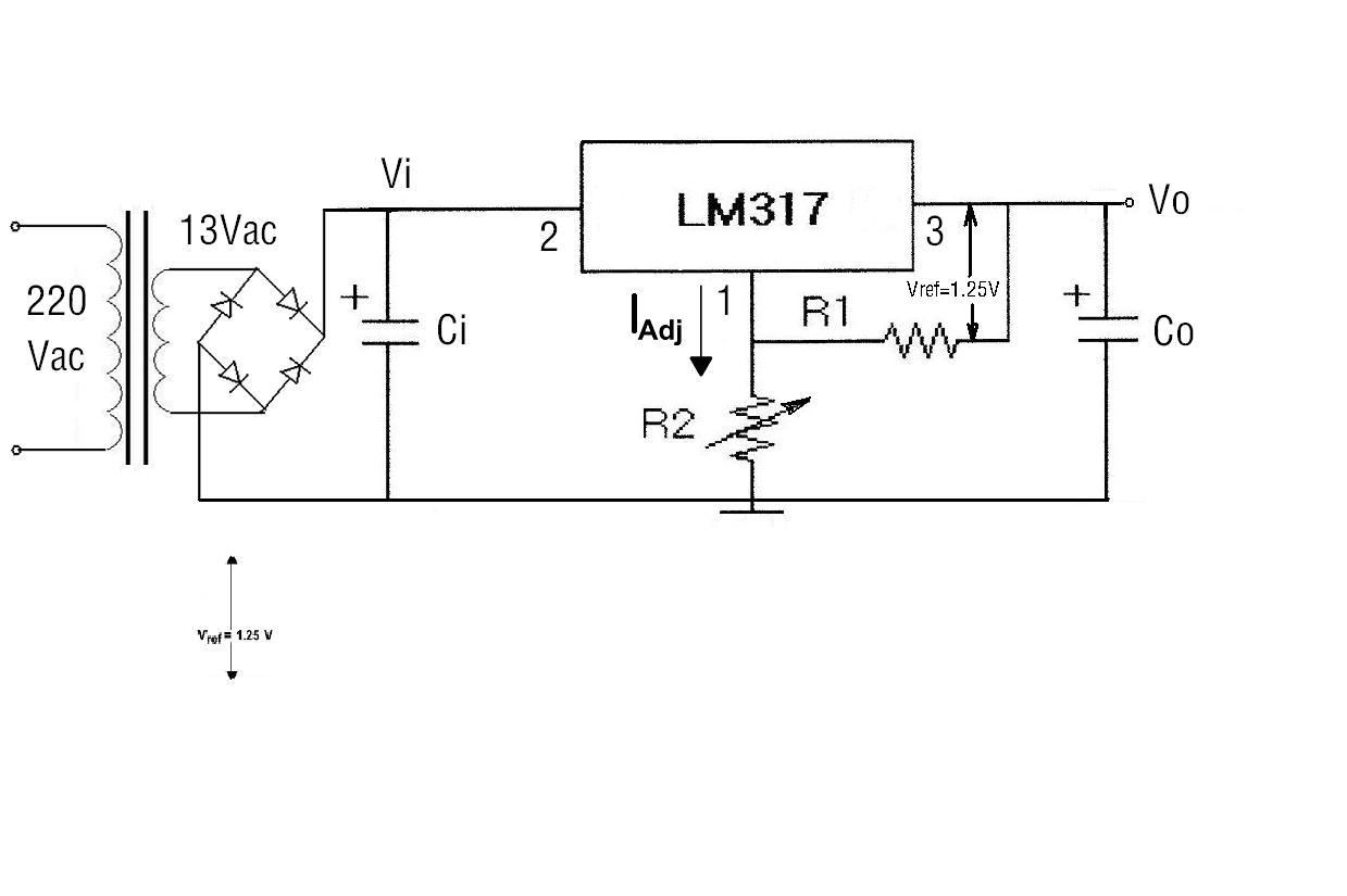 lm317简易直流可调稳压电源的制作