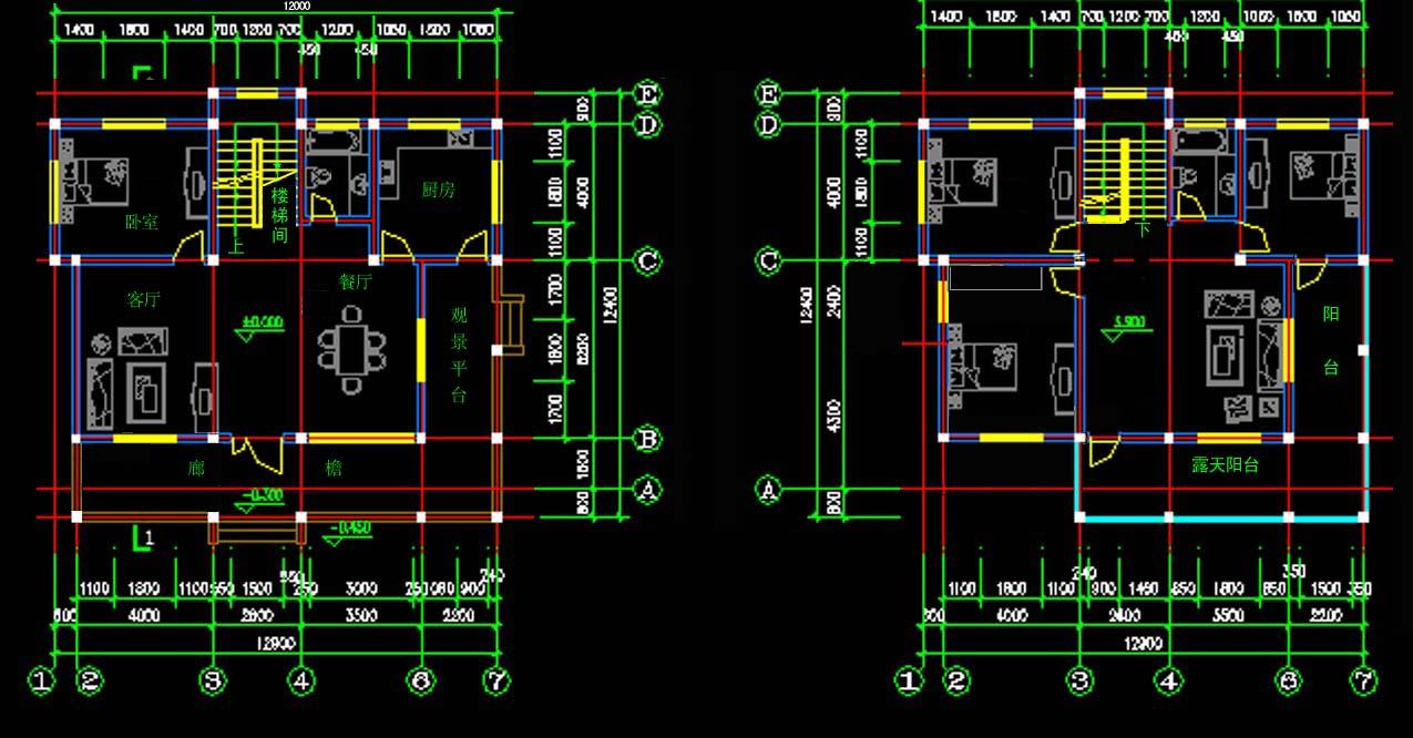 求高手帮忙设计100平米房屋设计图