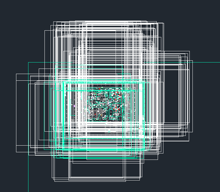 CAD线条打开不到很多安装图纸?地纬7.0找出现无关cad图片