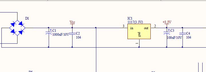 解释下原理图的电源滤波电路原理详细一点谢谢