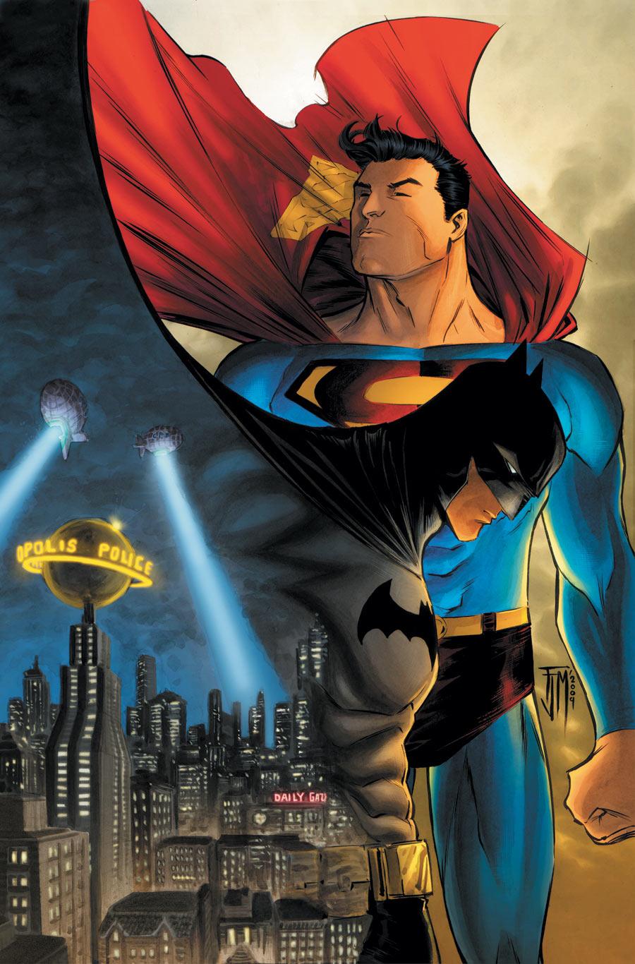 超人与蝙蝠侠_求些蝙蝠侠和超人的基情图片