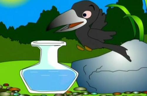 乌鸦喝水中除了乌鸦的那种办法,还有什么办法喝到水图片