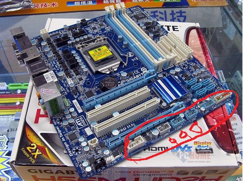 机箱里的2根前置usb线怎么接技嘉945ga-8i945pl-g主板