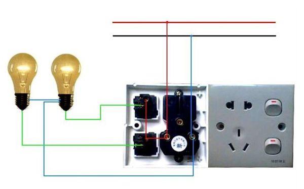 照明电路里的两根电线,一根叫火线,英文简写l(live wire),一般为红色