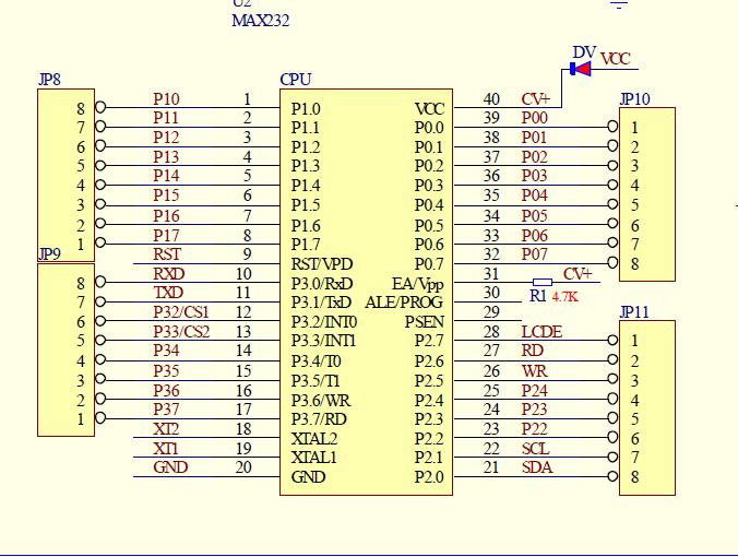 我用普中的单片机开发板做液晶1602的实验显示不出来