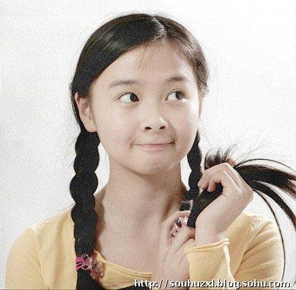 这个童星叫什么名字,主演过什么电视剧?图片