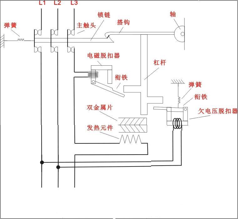 e2b2000 r2000断路器产品电路图
