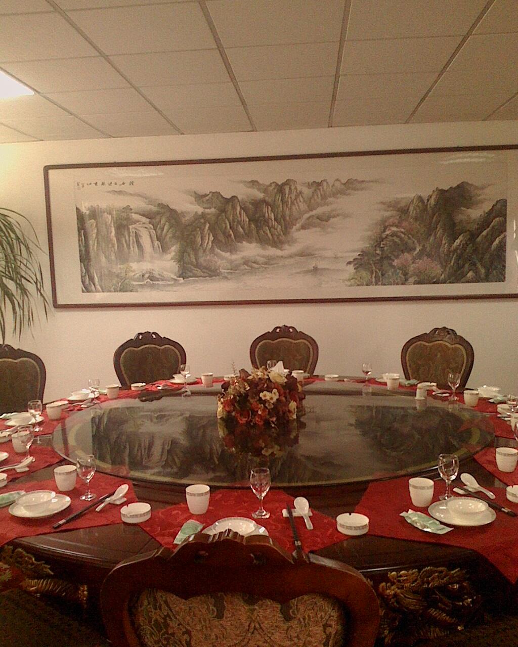 中餐宴会摆台主题设计要带图的图片