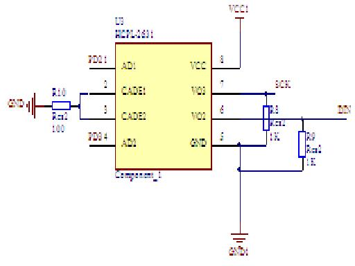 高速光耦hcpl2631与单片机连接电路图,现在有输入没输出是怎么回事?