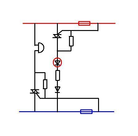 某同学在科技活动上设计了一个低压电路保险丝熔断指示器,工作要求是