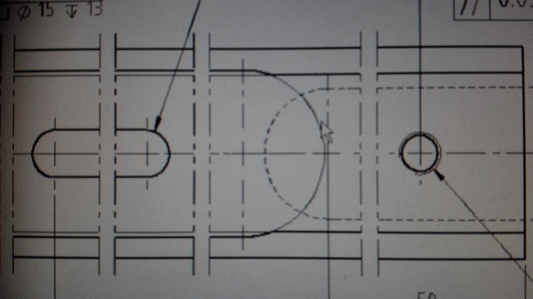 solidworks 工程图 双点画线打印时显示成细实线,这个图片