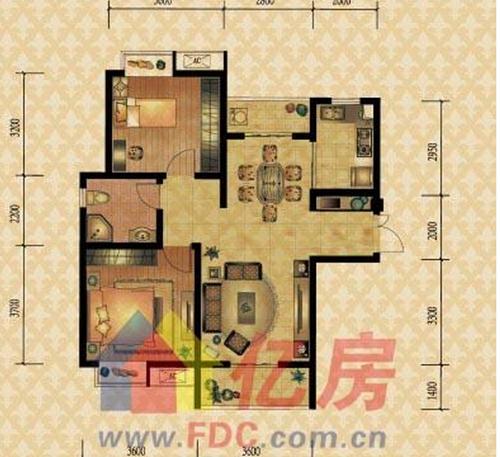 房子装修:两室两厅,面积98平方米,我想改成三室一厅的