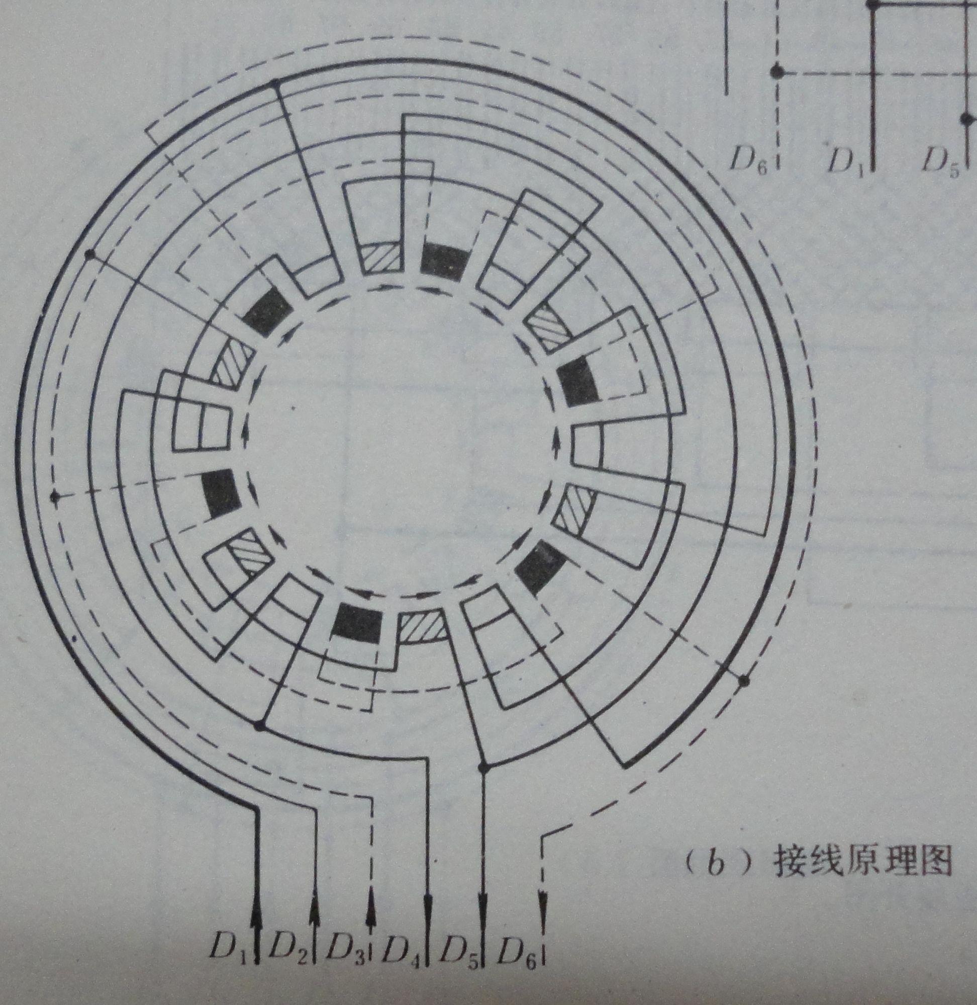 这个是54槽接线原理图