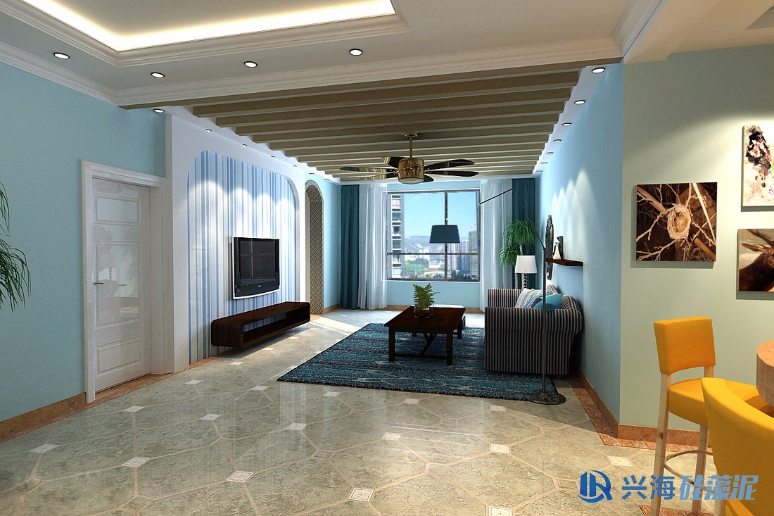 客厅壁纸颜色与电视背景墙颜色怎么搭配_百度知道