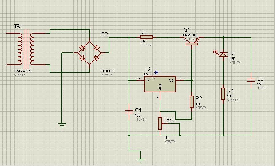lm317相关应用,求讲解这张电路图