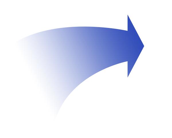 你要的形状,弧度 4,新建图层,ctrl enter把路径片成选区,填充渐变颜色图片