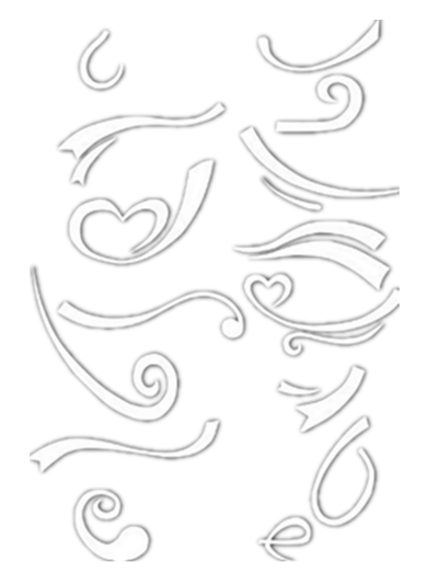 ps用户自定义形状 制作小说封面常用 唔,浪漫字体修饰就不需要了