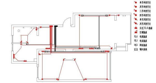 新房装修,求水电布线图?