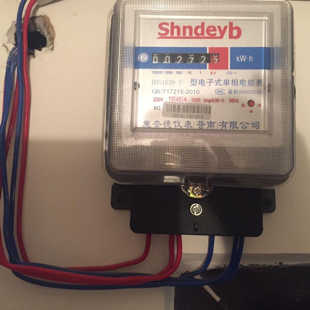 电杠怎么安装接线图解