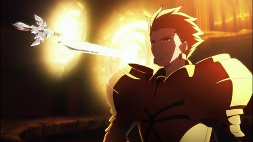 fatezero金闪闪_吉尔伽美什在fate zero出场的集数和他做了什么