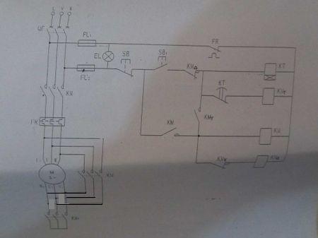 电工来看看这个接线图,上图,上接线电柜?