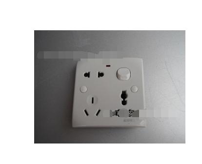 接线方法如下: 开关模块:开关l孔接火线,l1孔接灯的控制线.