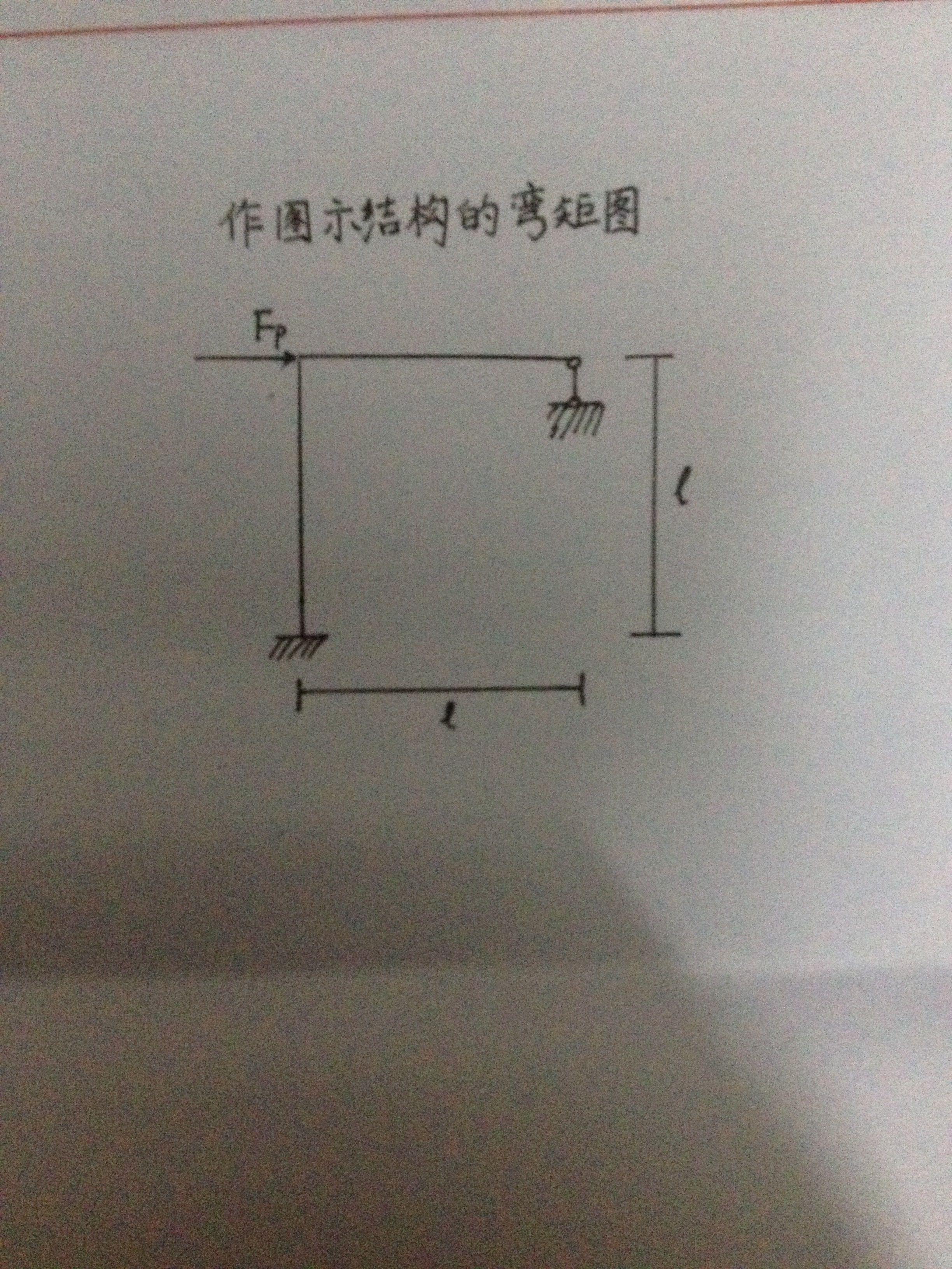 作出图示结构的弯矩图,结构力学的,尽量