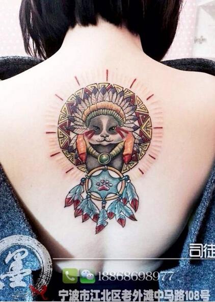 宁波纹身店图片