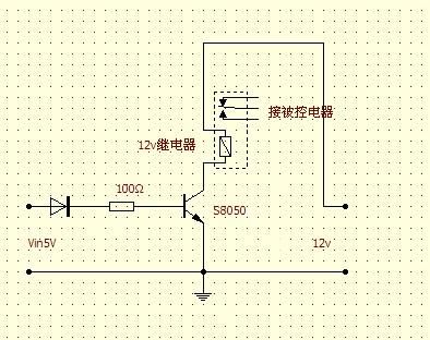 这个电路就能信任,最好在8050的基极到地之间加一个1k的电阻.