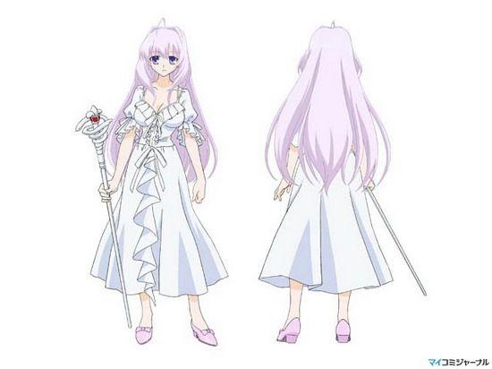 要银发紫眸的动漫少女 冷酷冷漠型的