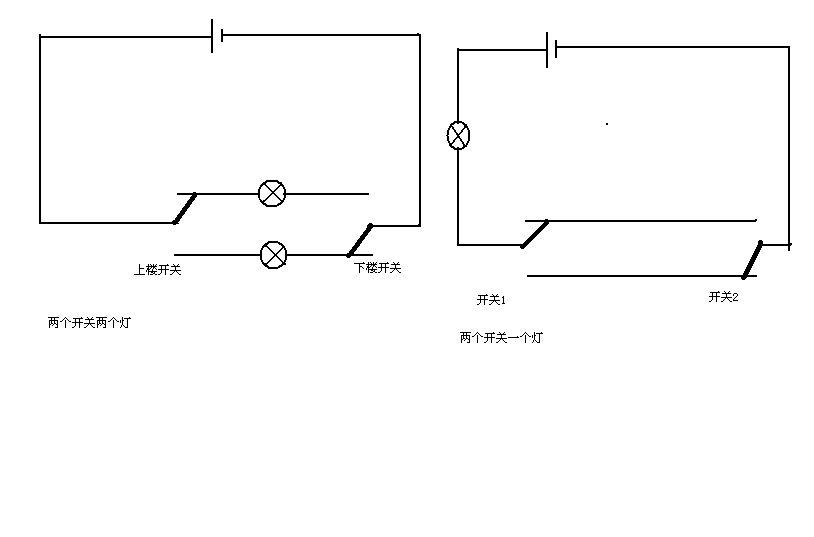家用电灯开关的接线方式