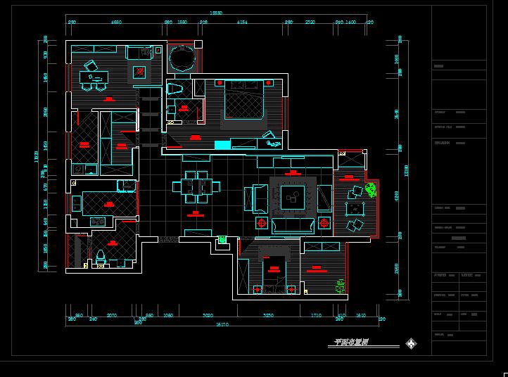 跪求房屋建筑学课程设计cad图图片