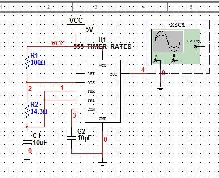 multisim10.0_multisim 10.0中对多谐振荡器仿真,为什么波形始终出不来啊