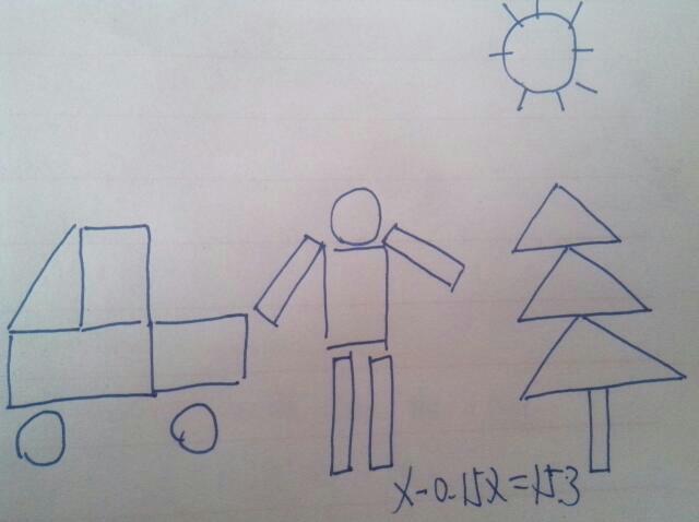 画一幅画上面有圆形,正方形,长方形,五角星,三角形
