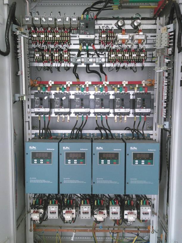 水泵房消防控制柜弱电线怎么接
