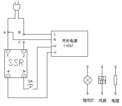 请问,用固态继电器控制220伏led灯泡无法完全关断!