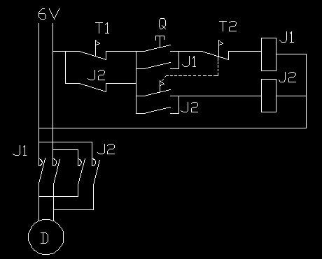 求电路图 直流电机