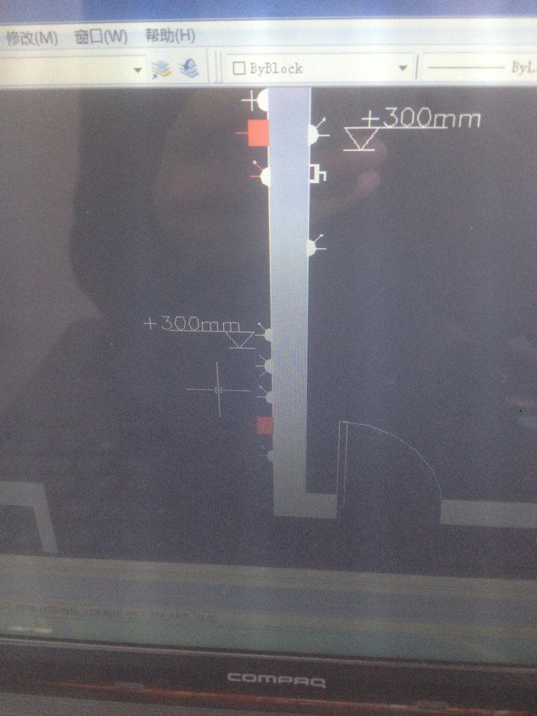 CAD中标高标注画求开关还有墙周围那些2012cad哪在极坐标详解图片