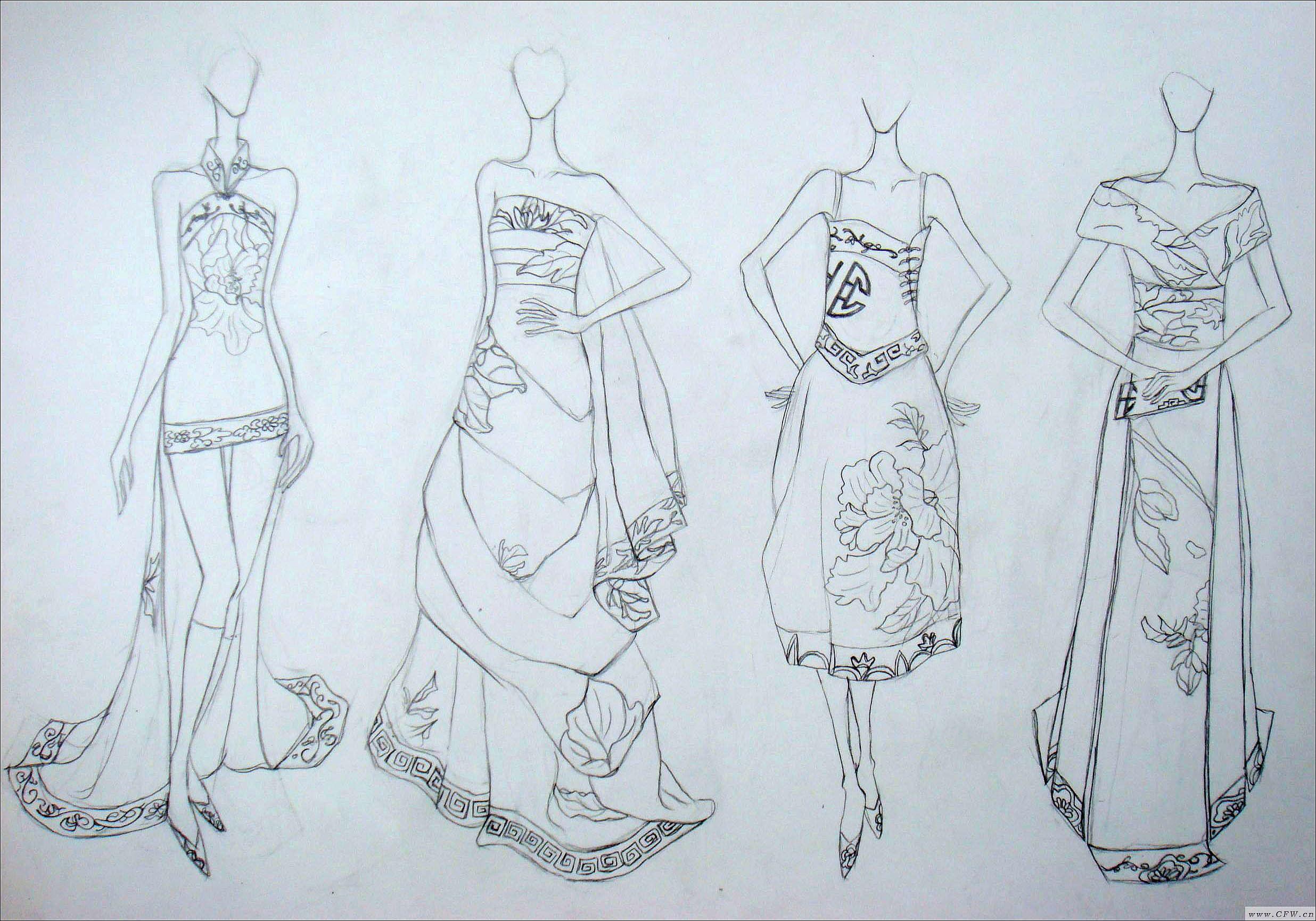 服装设计裙子款式