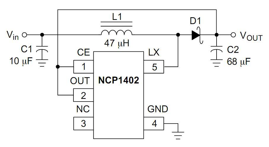 求直流升压电路2.4v升到5v